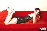 Shemale babe seducing