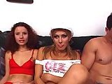 Transsexual Perfect Trio Banging
