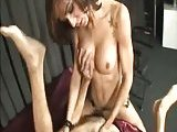Filthy Tranny Pounding Gets Ass Fucked