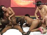 Group sex with Latina shemales