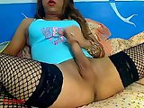 Webcam tranny solo video