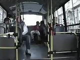Amateur bus sex with a tranny
