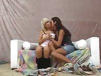 Brazilian TS Tastes A Girlie