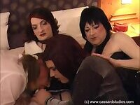 Tranny lover covered me with cream