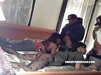 Amateur ebony couple fucking scenes
