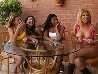 Hot latinos orgy outdoors