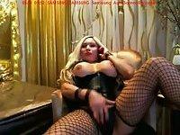 Webcam beautiful blonde shemale