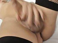 Hot tgirl solo masturbation