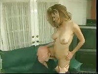 Mutual nailing with blonde Tgirl