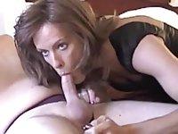 Brunette tranny gets dicked