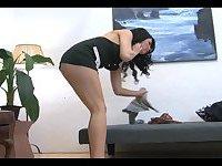 I Want A Barefoot Tranny Maid!