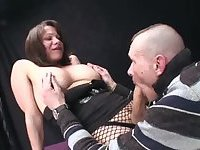 She is happy with a tight ass penetration