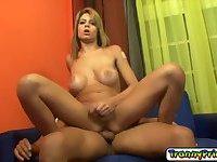 Sweet TS babe Letticia wants it hard
