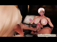 Princess 3d anime shemale bigboobs hot fucked and facial