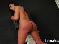 Latin Tgirl Karen Rodrigues Shows Some Skin