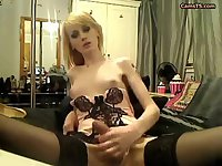 Sweet Elllery Show Her Big Cock By TROC