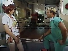 Sexy nurse tranny sucks deep doctor in emergency car at gotranny.com