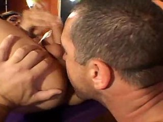 Vampy Tgirl gets ramming on a pool table