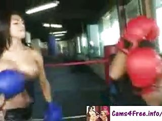 Real Fight With A Hot Shemale