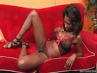 Ebony Shemale With White Boy In Oral Sex