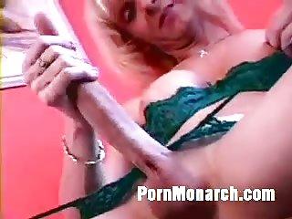 Trixie - Tranny Teaser Big Cock Jerk Off