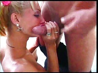 Outdoor mutual hardcore with blonde