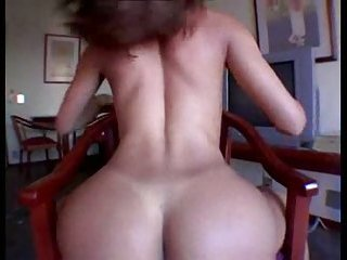 Titty tranny masturbating her hard cock