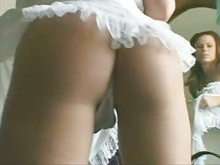 Busty hottie with dildo