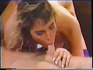 Vintage Tgirl gets a condom insertions