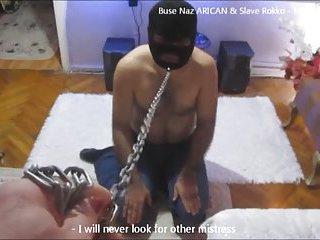 Turkish Buse Naz ARICAN & Slave Rokko - Fetish Compilation