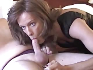 Brunette tranny gets dicked