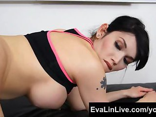 Titty Brunette Gets Ass Smashed