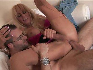 Shemale pornstar Joanna Jet ass rammed