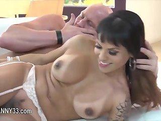Phenomenal transsexual coitus sex